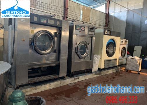 Máy giặt công nghiệp hiện đại